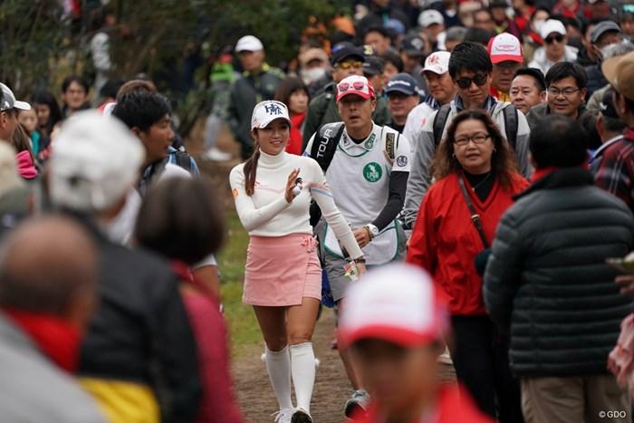 イ・ボミは5位で最終戦を終えた。2年ぶりの優勝とはならなかった 2019年 LPGAツアーチャンピオンシップリコーカップ 最終日 イ・ボミ