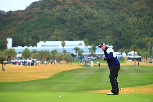 2019年 カシオワールドオープンゴルフトーナメント 初日 ショーン・ノリス ショーン・ノリスが自己最高の62位に浮上した