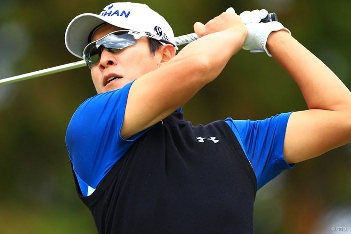 今季自己ベスト「64」を記録して逆転優勝したキム・キョンテ 2019年 カシオワールドオープンゴルフトーナメント 最終日 キム・キョンテ