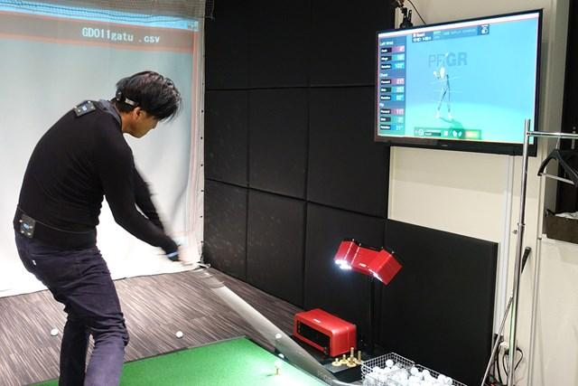 3Dモーションキャプチャーでの体の動きを測定