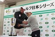 2019年 ゴルフ日本シリーズJTカップ 事前 ショーン・ノリス 今平周吾