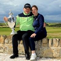 1月にシニア入りしたポール・ローリー。8月「スコットランドシニアオープン」で初優勝を飾った(Phil Inglis/Getty Images) 2020年 アフラシアバンク・モーリシャスオープン 事前 ポール・ローリー