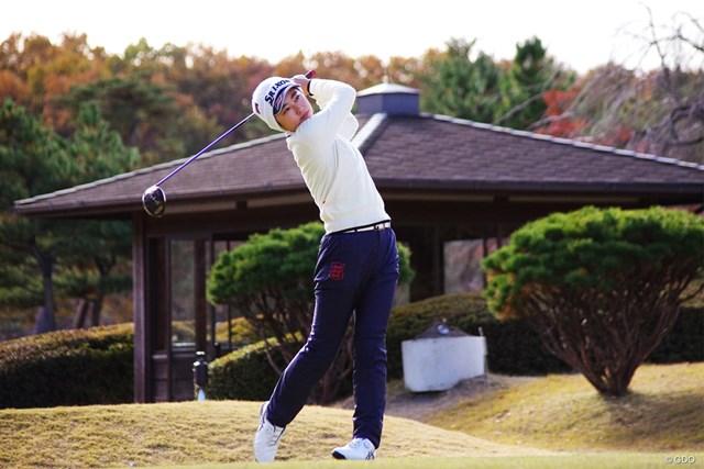 2019年 ファイナルクォリファイングトーナメント 最終日 安田祐香 2位で通過した安田祐香。来季前半戦のツアー出場権を手にした