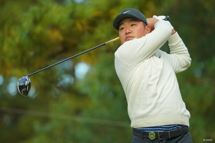 3連続ボギーが悔やまれますが、何とか8位タイをキープ 2019年 ゴルフ日本シリーズJTカップ 2日目 時松隆光