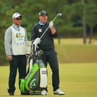 単独2位に。逆転なるか 2019年 ゴルフ日本シリーズJTカップ 2日目 ショーン・ノリス