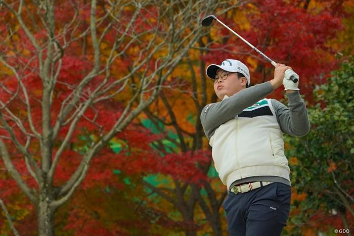 ハン・ジュンゴンは今大会終了後に母国に帰り、入隊の準備をする 2019年 ゴルフ日本シリーズJTカップ 2日目 ハン・ジュンゴン