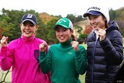 2019年 ファイナルクォリファイングトーナメント 最終日 (左から)吉田優利 西村優菜 安田祐香