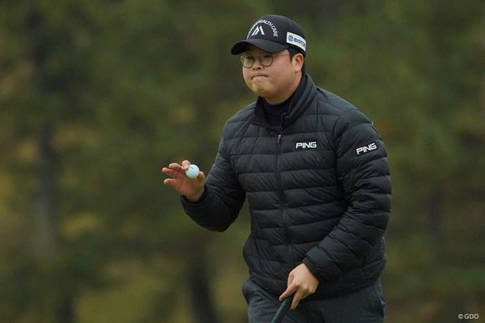 最後、優勝でキメたらカッコイイねぇ。 2019年 ゴルフ日本シリーズJTカップ 3日目 ハン・ジュンゴン