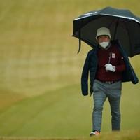 まさしくフーテンの虎さんな雰囲気。 2019年 ゴルフ日本シリーズJTカップ 3日目 チェ・ホソン