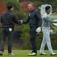 残り18ホールの戦い。 2019年 ゴルフ日本シリーズJTカップ 3日目 ショーン・ノリス
