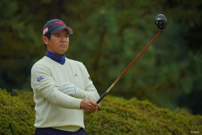 前半は好調で首位に迫る勢いも、後半で失速してしまった。 2019年 ゴルフ日本シリーズJTカップ 3日目 武藤俊憲