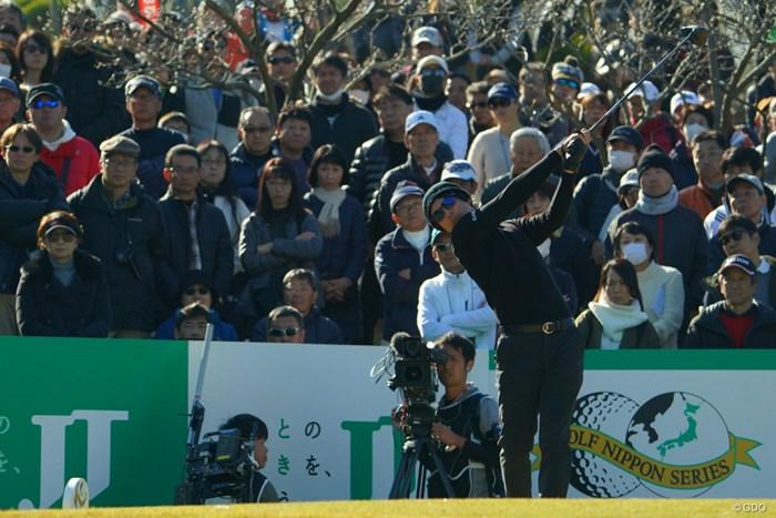石川遼がプレーオフを制し、4年ぶりに最終戦を制覇した 2019年 ゴルフ日本シリーズJTカップ  最終日 石川遼