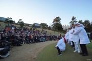 2019年 ゴルフ日本シリーズJTカップ 最終日 集合写真