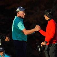 男子ツアーを最後まで盛り上げてくれましたね。 2019年 ゴルフ日本シリーズJTカップ 最終日 ショーン・ノリス