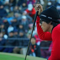 プレーオフ3ホール目。このバーディパットで決める! 2019年 ゴルフ日本シリーズJTカップ 最終日 石川遼