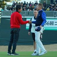 良い試合でしたね。 2019年 ゴルフ日本シリーズJTカップ 最終日 石川遼 ブラッド・ケネディ