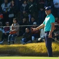 ショーン・ノリスは2年連続で賞金ランキング2位に終わった 2019年 ゴルフ日本シリーズJTカップ 最終日 ショーン・ノリス