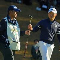 今平周吾はことしも柏木キャディと最終戦を戦った 2019年 ゴルフ日本シリーズJTカップ  最終日 今平周吾