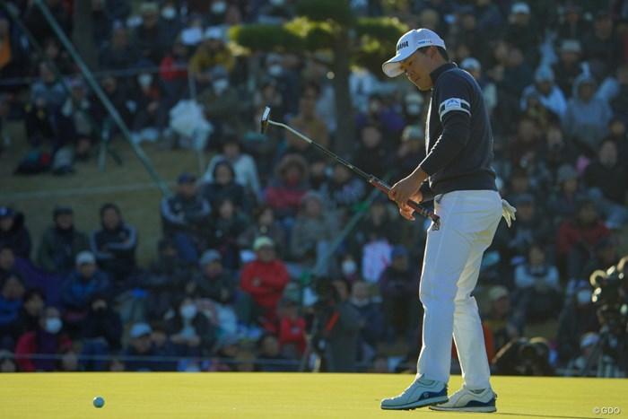 今平周吾は最終18番で3パットダボ。賞金王の顔から笑顔が消えた 2019年 ゴルフ日本シリーズJTカップ 最終日 今平周吾