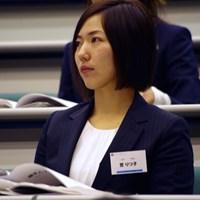 セミナーに出席した笠りつ子 2019年 笠りつ子