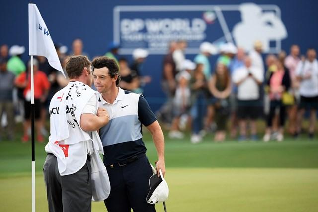 マキロイは欧州ツアーでシーズン最少となる平均ストロークをマークした(Ross Kinnaird/Getty Images)