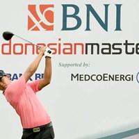首位タイで発進したアマチュアのナラジー・ラマダンプトラ(提供:アジアンツアー) 2019年 インドネシアマスターズ 初日 ナラジー・ラマダンプトラ