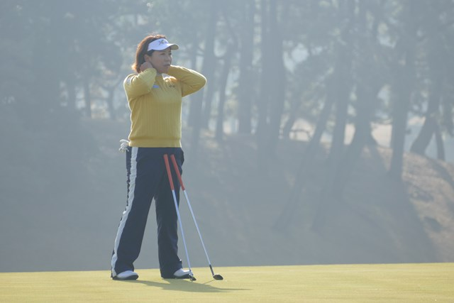 ツアー7勝を挙げる吉田弓美子も地元の地区オープンに出場した
