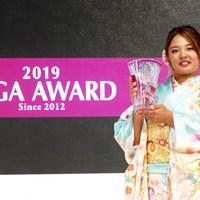 鈴木愛は賞金女王としてアワードに参加した 2019年 LPGAアワード 鈴木愛