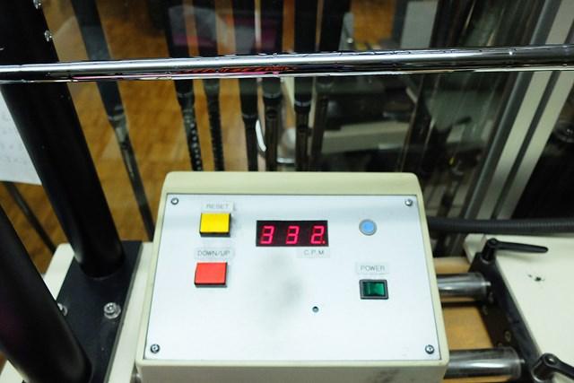 今回試打したシャフト「NSプロ 950GH neo」の振動数は332cpm