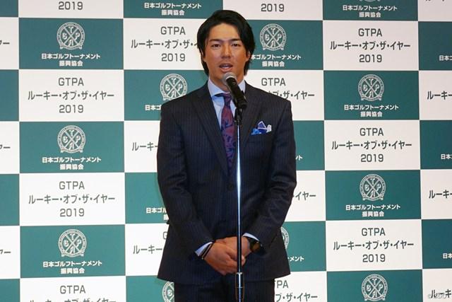 石川遼はGTPAの表彰式で乾杯の音頭を取った