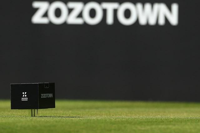 2020年 ZOZOチャンピオンシップ ティマーク ティマークはZOZOTOWNのデリバリーのハコでした(ZOZOチャンピオンシップ提供画像)