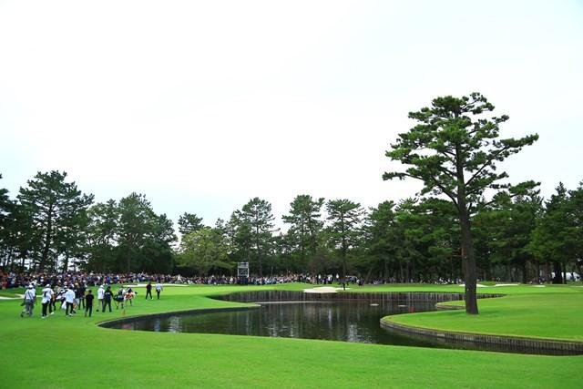 2020年 ZOZOチャンピオンシップ アコーディア・ゴルフ習志野カントリークラブ 日本の2グリーンを使用するのもPGAツアーにとっては新たな試みだった
