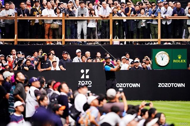 ウッズで沸いた「ZOZOチャンピオンシップ」。来年は日本ツアーの賞金ランク対象外に