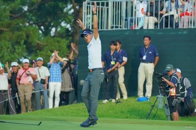 石川遼も復活劇。シーズン3勝を挙げました