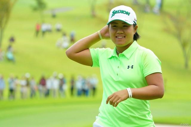 畑岡奈紗(※写真は日本女子オープンゴルフ選手権)