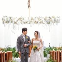 韓国で挙式したイ・ボミとイワンさん(※提供写真) 2019年 イ・ボミ