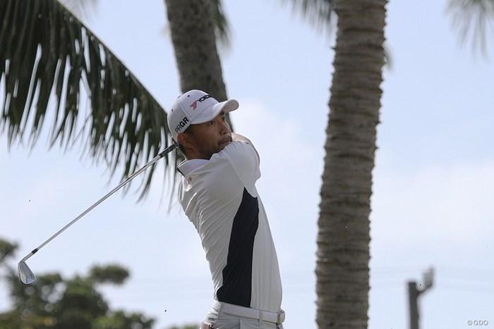 多くの選手を苦しめた強風を攻略した 2020年 ソニーオープンinハワイ 初日 小平智