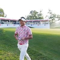 ゴルフはともあれ、心も体も元気そうでした。 2020年 香港オープン 2日目 片岡大育