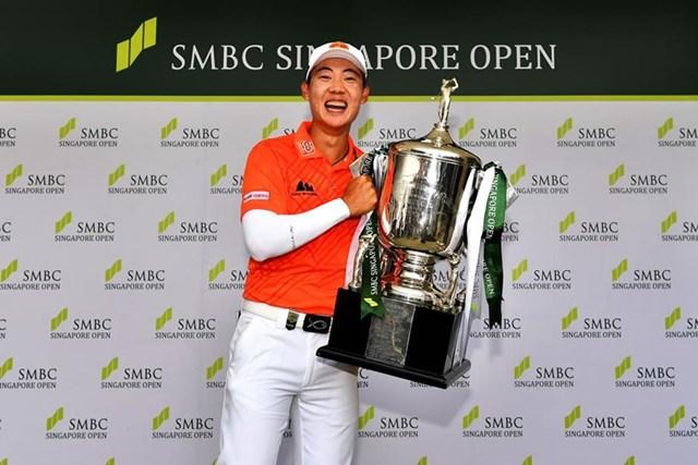 2019年 SMBCシンガポールオープン 最終日 ジャズ・ジェーンワタナノンド 前年大会はジャズ・ジェーンワタナノンドが逆転優勝を遂げた(※大会提供)