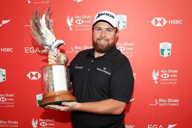 2019年 アブダビHSBCゴルフ選手権 最終日 シェーン・ローリー 前年はシェーン・ローリーが完全優勝を果たした(Andrew Redington/Getty Images)
