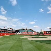 今週の会場はアブダビGC。ダイナミックなつくりのコースです 2020年 アブダビHSBCゴルフ選手権 事前 アブダビGC