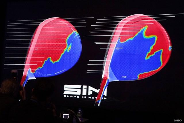 SIMとマーベリック 2020年注目1Wの意外な共通点 テーラーメイド発表会にて「イナーシャ ジェネレーター」についての説明