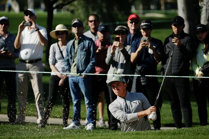 ファウラーが好位置につけた(Jeff GrossGetty Images) 2020年 ザ・アメリカンエキスプレス 初日 リッキー・ファウラー