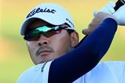 2020年 アブダビHSBCゴルフ選手権 2日目 川村昌弘