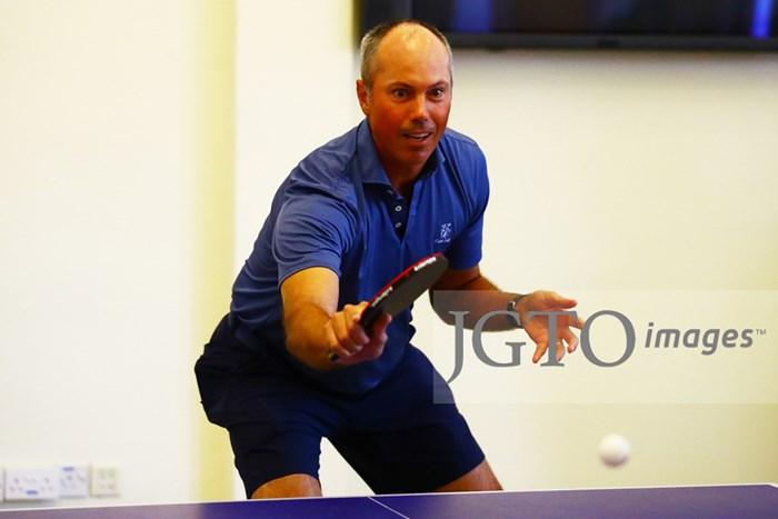クーチャーは卓球もうまい 2020年 SMBCシンガポールオープン 2日目 マット・クーチャー