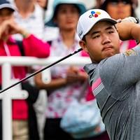 韓国のキム・ジュヒョン(写真は2020年香港オープン3日目 Yu Chun Christopher Wong/Getty Images) 2020年 SMBCシンガポールオープン 3日目 キム・ジュヒョン