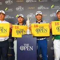 木下稜介(右)ら4人が全英切符を手にした 2020年 SMBCシンガポールオープン  最終日 木下稜介