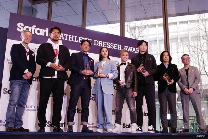「第8回 Safari Athlete Dresser Award」イベント 柏原明日架