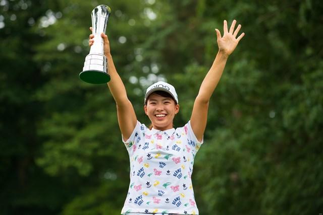 渋野日向子が日本プロゴルフ殿堂「特別賞」を受賞