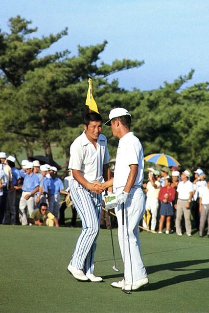 1971年 日本プロゴルフ選手権 尾崎将司 1971年「日本プロ」初優勝から尾崎将司の輝かしいキャリアが始まった ※画像提供/日本プロゴルフ協会